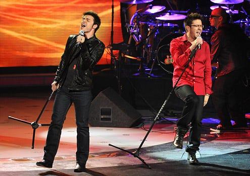 American Idol - Season 8 - Kris Allen and Danny Gokey