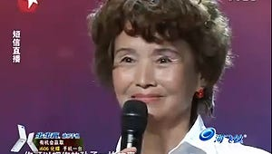 Chinese Granny Channels Michael Jackson on China's Got Talent