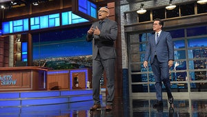 Watch Larry Wilmore Steal The Late Show From Stephen Colbert